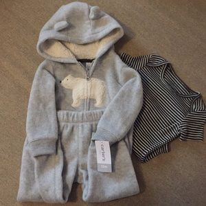 Carter's Three Piece Girls Winter Set